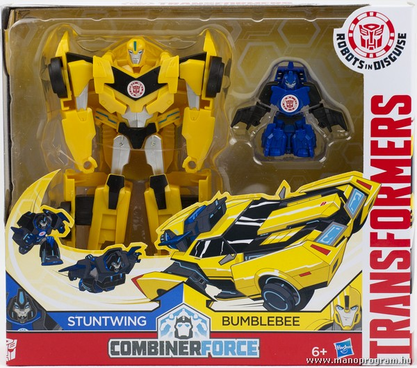 Combiner Force - Stuntwing és Bumblebee