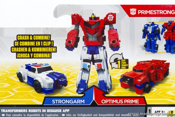 Combiner Force - Strongarm és Optimus Prime