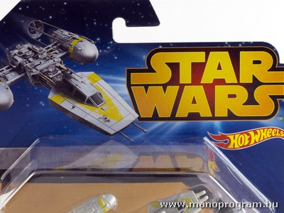 Star Wars Hot Wheels: Y-Wing Fighter