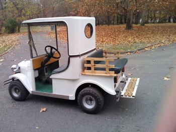 Elektromos autózás a Margitszigeten